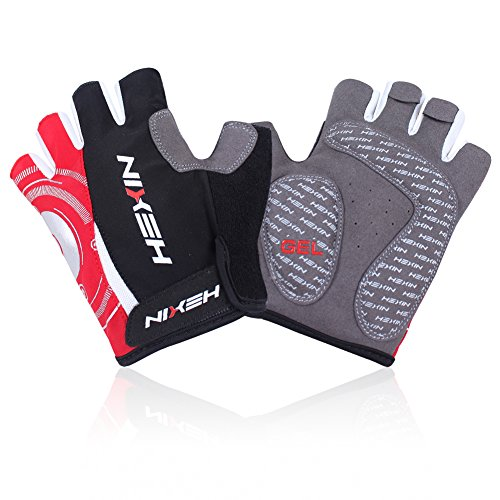 HEXIN Men's/Women's Cycling Gloves Half Finger Bicycle Gloves