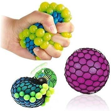 OUT OF THE BLUE Squeeze Ball de Red, Pelota antiestrés, 4 ...