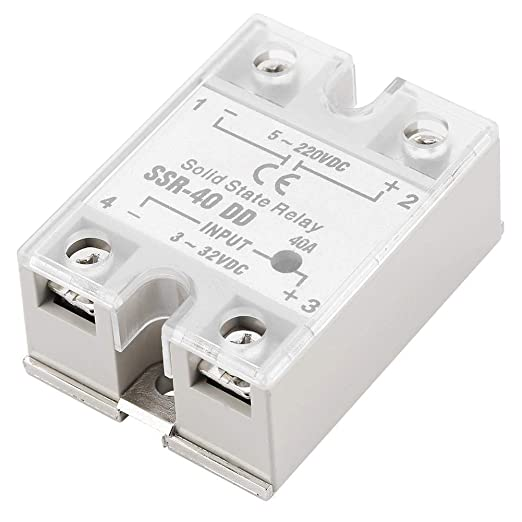 SSR-40 DD Solid State Relay for Industrial Automation Process 40A 5-220VDC