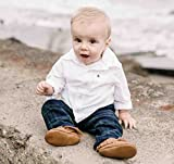 BirdRock Baby Moccasins - Premium Soft Sole Leather
