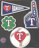 Texas Rangers 4 Piece Team Magnet Set