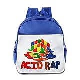YUZEK Melted Rubik Children School Backpack RoyalBlue