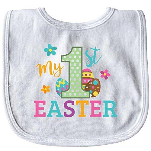 Inktastic - My 1st Easter Baby Bib White 28022 ()