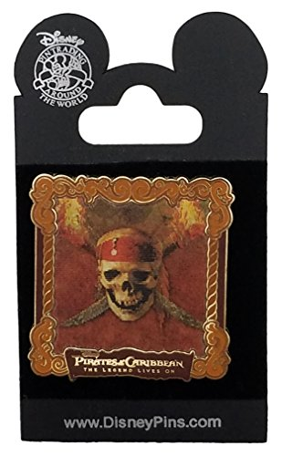 Disney Pin - Pirates of the Caribbean - Legend Lives On - Lenticular