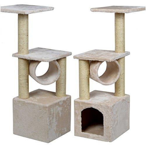 Bright Modern 36'' Cat Tree Toy House Furniture Kitten Pet Color Beige (Cobra Cross Costume)