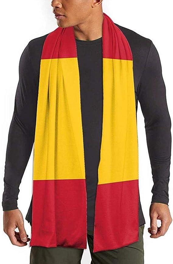 Bufanda larga a rayas Bandera de España Bufanda larga Bufanda de invierno Bufandas Chal: Amazon.es: Ropa y accesorios