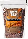 Amazon Brand - Happy Belly Roasted & Salted California Almonds, 48...