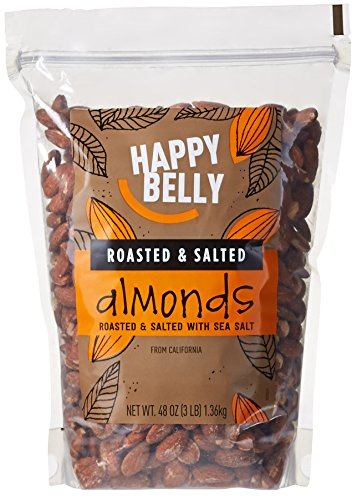 organic almonds roasted salted - 5