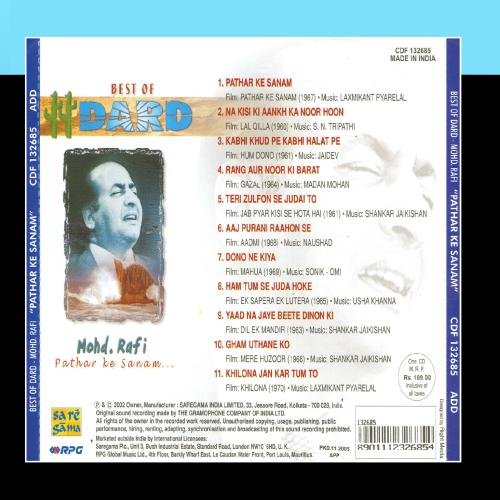 Best Of Dard- Md.Rafi