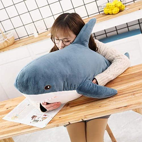 サメshark 鮫 特大 ぬいぐるみ ふわふわ 抱き枕 お祝い プレゼント (80cm)