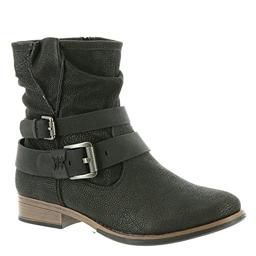 Madeline Womens Bouncy Boot Black Synthetic pTKj184vm