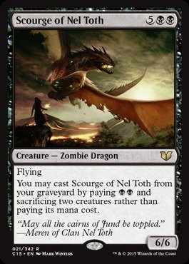 Magic: the Gathering - Scourge of Nel Toth (021/342) - Commander 2015