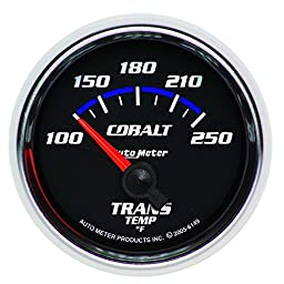 Auto Meter 6149 Cobalt Electric Transmission Temperature Gauge