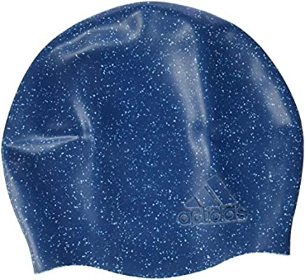 lowest price 405ce 39486 adidas Men s Textured Swimming Cap, Core Blue, One size  Amazon.co.uk   Sports   Outdoors