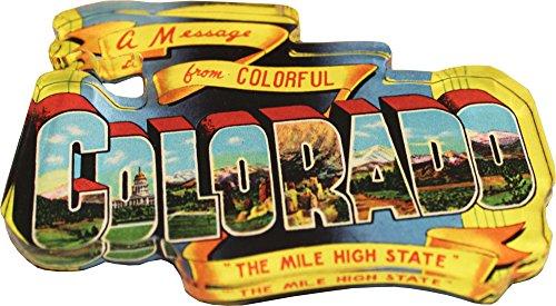 """Price comparison product image Colorado - Colorado Postcard Acrylic Magnet (3"""" x 2"""")"""