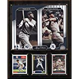 MLB New York Yankees Mantle-Ruth Legacy Collection Plaque, 12 x 15-Inch