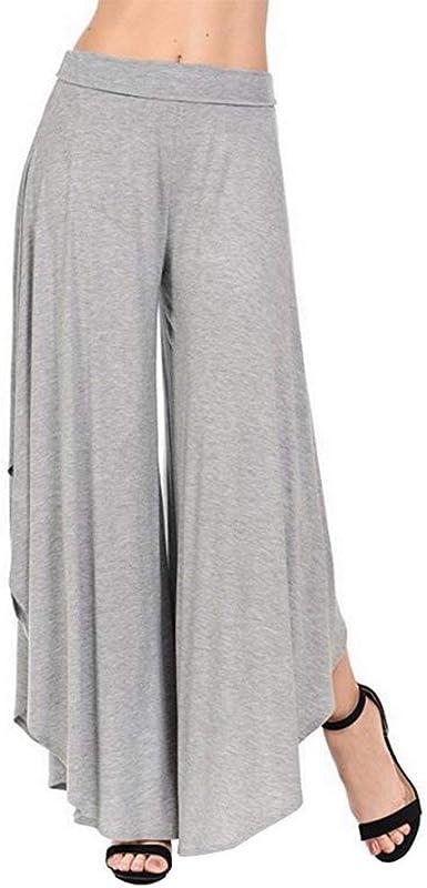 Pantalon Mujer Pantalones Anchos Moda Pantalones Elegantes ...