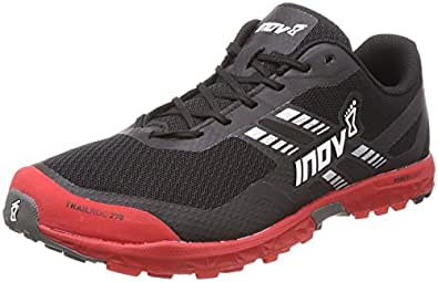 Inov-8 2017 Men's Trailroc 270 Trail Running Shoe - Black/Red - 000627-BKRD-M-01 (Black/Red - M8 / W9.5)