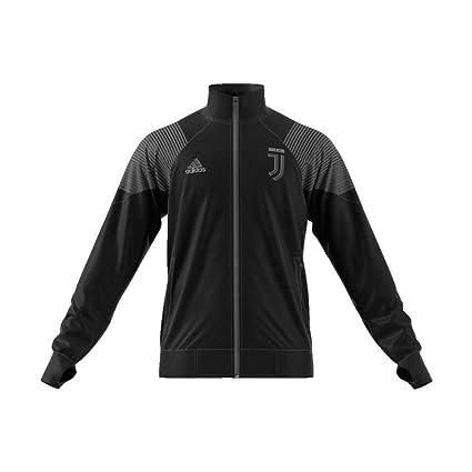 5f848e1630034 Amazon.com : adidas 2018-2019 Juventus LIC Track Top (Black ...