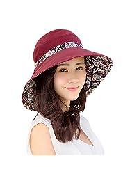 Summer women's sun Sunscreen cap Fold along the Beach Hat