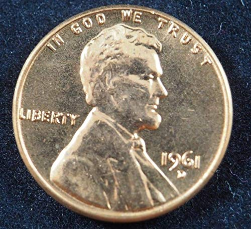 1961 D Lincoln Small Cents Ungraded Uncertified at Amazon's