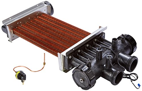 - Zodiac R0470603 Complete Heat Exchanger Assembly Replacement for Zodiac Legacy LRZE250 Pool and Spa Heater