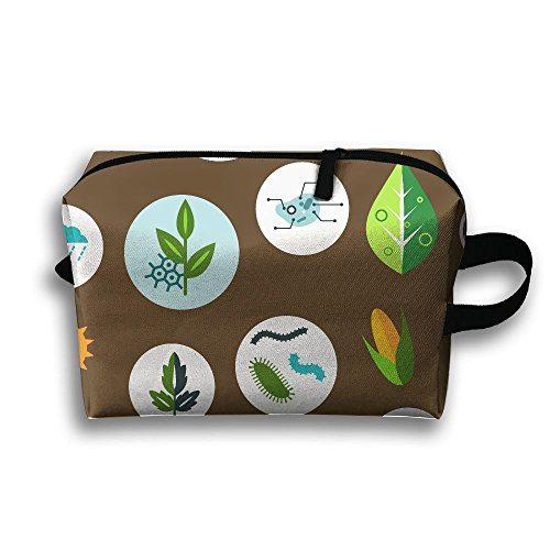 Unique Chemical Icons Portable Receiving Bag Make-up Cosmetic Bag Sewing Kit Stationery Bags Multi-function Bag