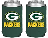 packers can holder - NFL Football 2014 Team Color Logo Can Kaddy Holder Can Cooler 2-Pack (Green Bay Packers)