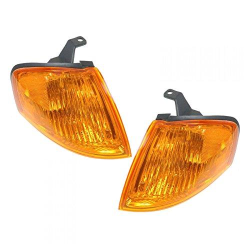 linker Corner Parking Light Pair Set for 99-00 Mazda Protege (Mazda Protege Side Marker)