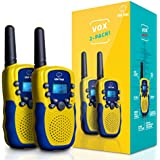 """USA Toyz Walkie Talkies for Kids - """"Vox Box"""" Voice Activated Walkie Talkies for Adults and Kids 3+ Mile Two Way Radio Walkie Talkies Long Range Set"""