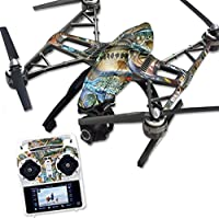 Skin For Yuneec Q500 & Q500+ Drone – Action Fish Puzzle | MightySkins Protective, Durable, and Unique Vinyl Decal wrap cover | Easy To Apply, Remove, and Change Styles | Made in the USA