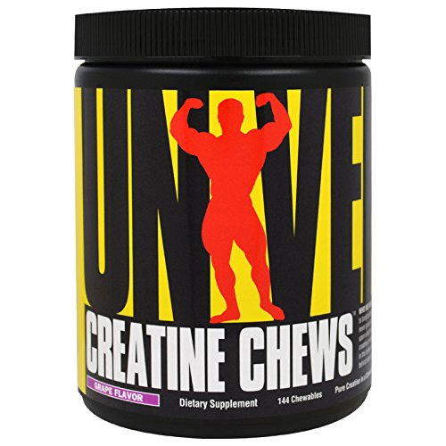Universal Nutrition, Creatine Chews, Grape Flavor, 144 Chewables - 3PC