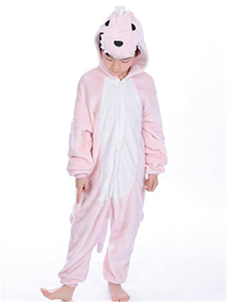 YOGLY Niños Pijama Monos Pijamas de Dibujos Animados de Dinosaurios Infantiles Ropa de Dormir
