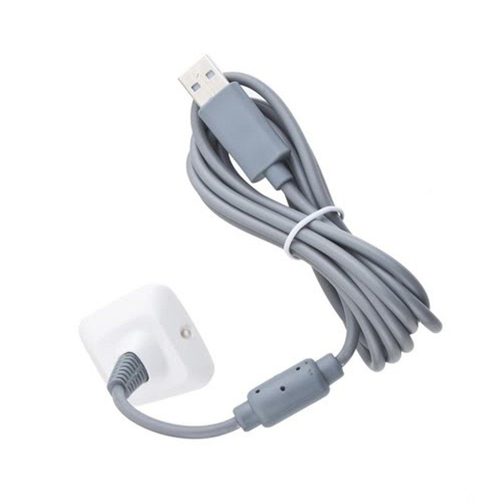 CABLE USB CARGADOR para Mando Inalámbrico de la XBOX 360: Amazon ...