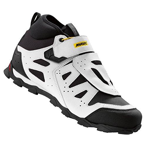 Mavic Crossride XL Elite de hombres proteger para bicicleta de montaña ciclismo zapatos blanco,negro
