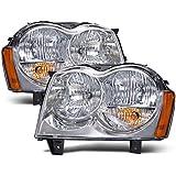 Jeep Grand Cherokee Headlights OE Style Replacement Headlamps Driver/Passenge...
