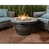 Cheap Vineyard Propane Fire Pit – 34.65in. Dia. x 18in.H