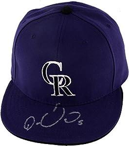 Carlos Gonzalez Colorado Rockies Autographed Cap - Autographed Hats