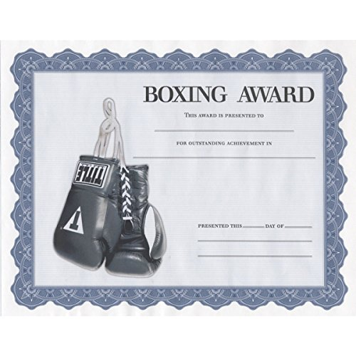 TITLE Boxing Award Certificates -