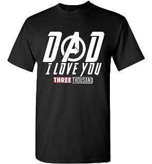7440ae8c Amazon.com: Avengers End Game Shirt and Iron Man Shirt - Dad, I Love ...