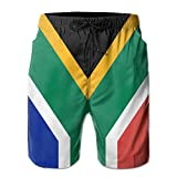 New Cartoon Fashion Flag Of South Africa Shorts Swim Trunks Casual Shorts For Man
