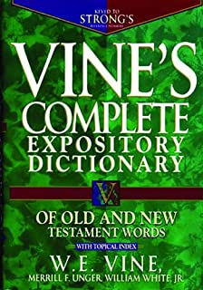 The interlinear bible hebrew greek english english hebrew and vines complete expository dictionary of old and new testament words fandeluxe Choice Image
