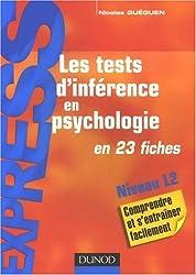 Les tests d'inférence en psychologie