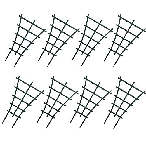 WINGOFFLY 8Pcs Plastic Superimposed Garden Plant Support Pot Mini DIY Climbing Trellis Flower Supports by WINGOFFLY