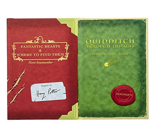 Harry Potter Schoolbooks Fantastic Beasts And Where To Find Them