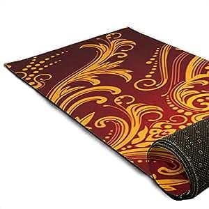 Amazon.com : CCRIM Vintage Pattern Print Crystal Velvet Yoga ...
