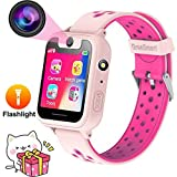 JUNEO Smartwatch for Kids with Camera,Anti-Lost SOS LBS Watch Phone Camera Wrist Watch Pedometer,Timer Watch Activity Tracker Safety Monitor for iPhone,Android Ship from USA (S6 – Pink) Review