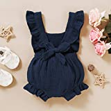 YOUNGER TREE Toddler Baby Girl Ruffled Sleeveless