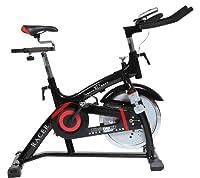 Christopeit Heimtrainer Racer Bike XL 2, schwarz/rot, 135 x 50 x 115 cm, 1311