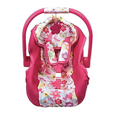 Adora Car Seat Carrier Accessory for Dolls and Stuffed Animals, Perfect for Kids 3+